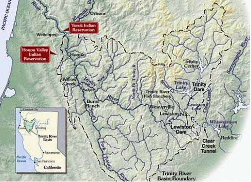 Trinity River Map
