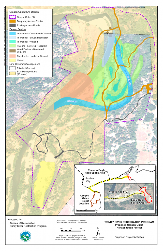 Oregon Gulch Proposed Project Features